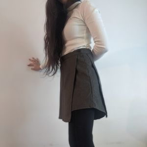 Skirts - Classy Charcoal Grey Skirt
